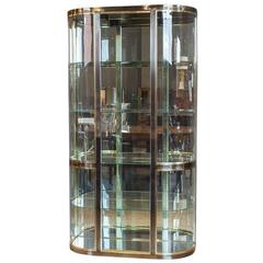 Mastercraft Demilune Display Vitrine