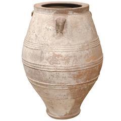 Mid-Century Large Greek Terra Cotta Pot