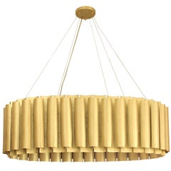 Aura Suspension in Hammered Brass
