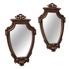 Pair of Italian 19th Century Mirrors