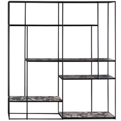 Hill Marble Shelves Bookcase