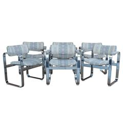 Mid-Century Modern Eero Aarnio Mobel Italia Chairs, Set of Six