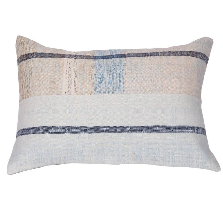 Pillow Made Out of an Mid-20th Century Anatolian Cotton Kilim at 1stdibs