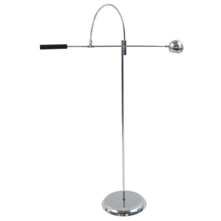 Orbiter Floor Lamp by Robert Sonneman For Sale at 1stdibs