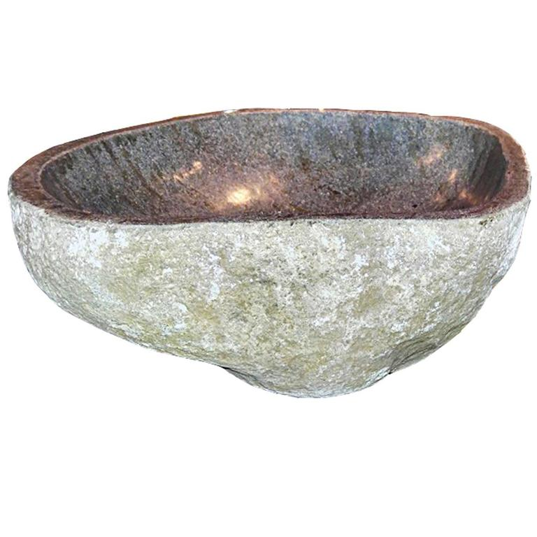 Stone Bowl Basin : Home / Furniture / Building and Garden Elements / Stone Sinks