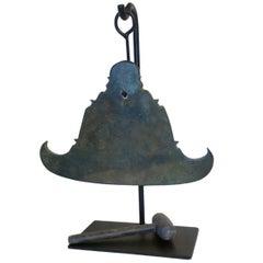 Metal Burmese Temple Gong
