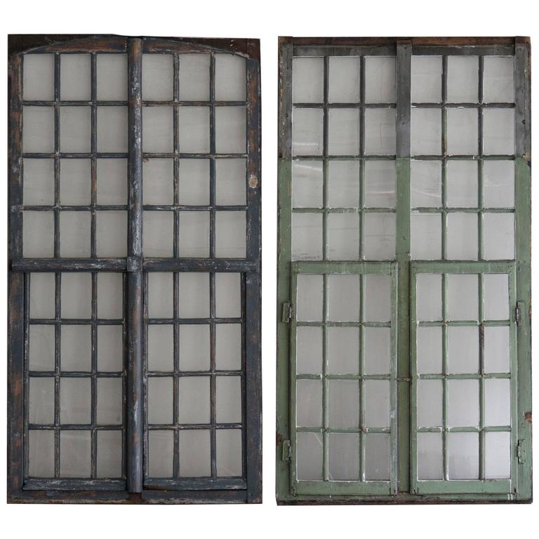 Wood And Glass Windows For Sale At 1stdibs