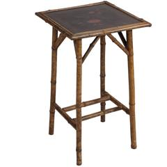 Late 19th Century Bamboo Table