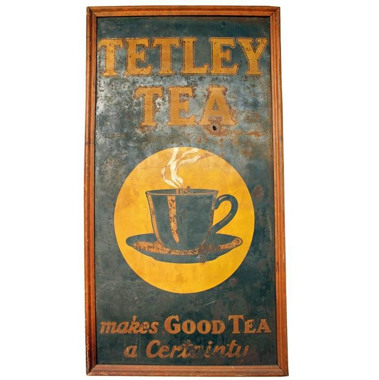 Tetley Tea Sign 1
