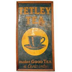 Tetley Tea Sign