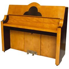 Art Deco Cloud Design Piano by Prescott's of Oxford