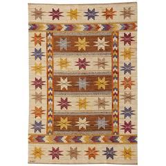 Marta Maas-Fjetterstrom Hostmattan, Swedish Handwoven Flat Weave, 1928