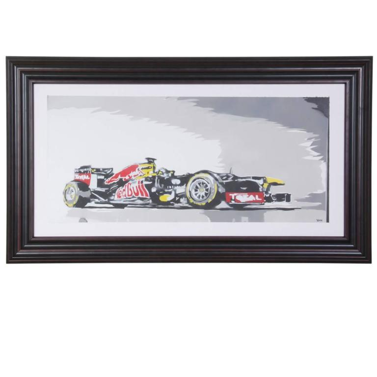 Formula 1 by Yan Street Art For Sale at 1stdibs