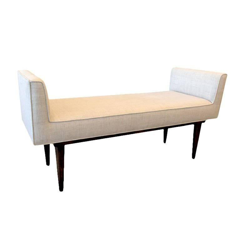 Boudoir Bench by Lost City Arts For Sale