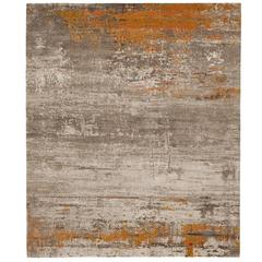 Artwork 19 Orange from Artwork Carpet Collection by Jan Kath