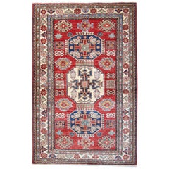 Oriental Rugs, Hand Made Carpet Red Kazak Rugs for Sale