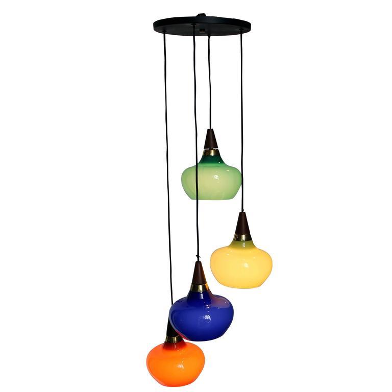 1950s Danish Light Suspension For Sale