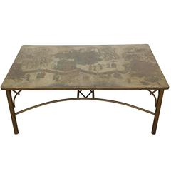 Rare Phillip and Kelvin Laverne Tao Dining Table
