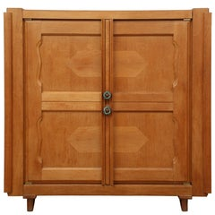 French Oak Cabinet by Guillerme et Chambron