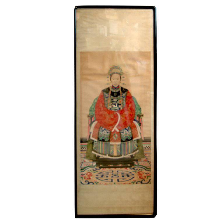 Chinese Ancestoral Portrait
