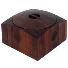 Danish Modern Cocobolo Ice Bucket by Jens Quistgaard for Dansk