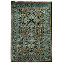 Green Persian Sultanabad Mahal Rug For Sale At 1stdibs