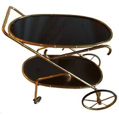 Maison Jansen Style Bar Cart
