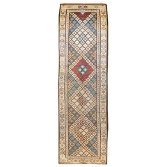 Wonderful Early 20th Century Saveh Kilim Runner