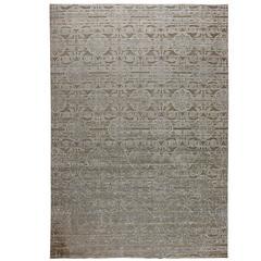 Lovely gruber design international square area rug at 1stdibs for International decor rugs