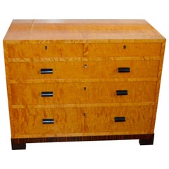 1930s Art Deco Satinwood Dresser
