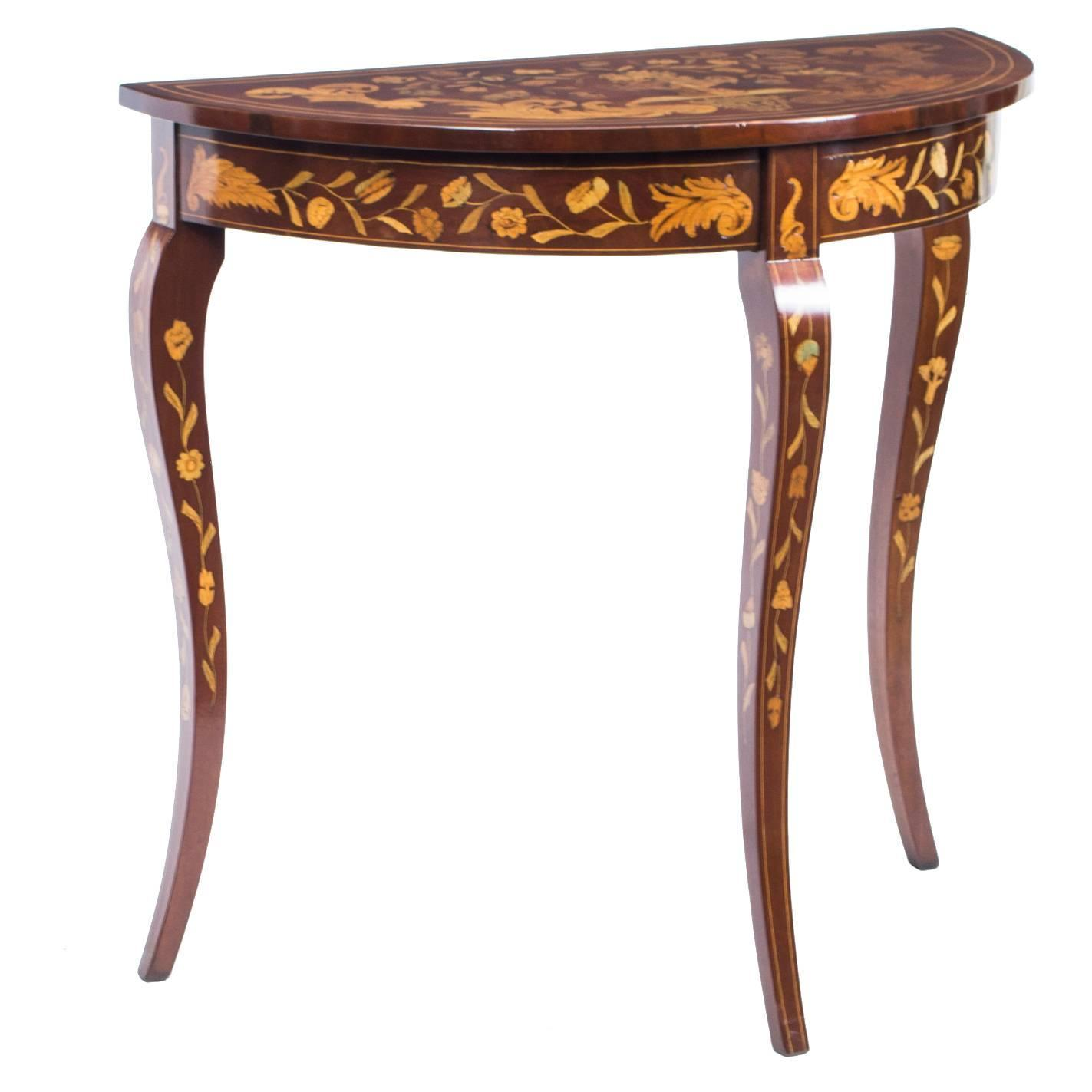 100 midcentury modern marquetry coffee table with giltwood