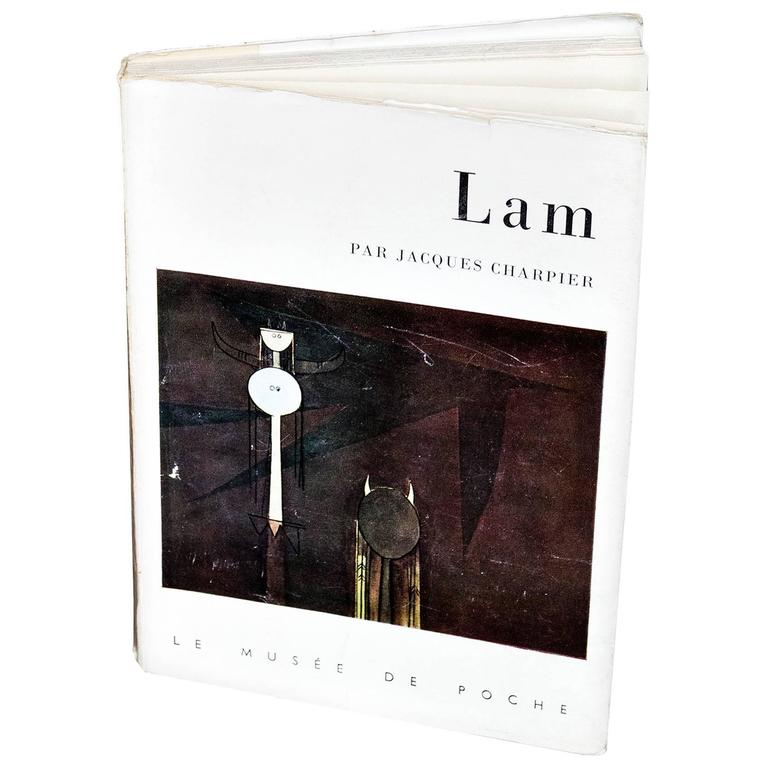 Lam First Edition Signed and with Drawing by Wifredo Lam