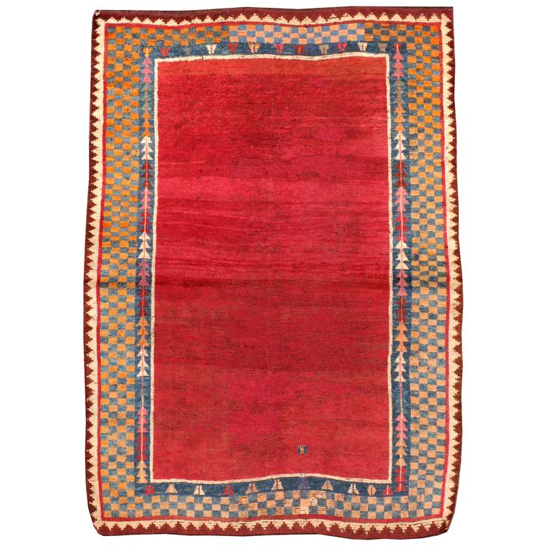 Antique Persian Gabbeh Rug For