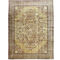 Vintage Silk Chinese Rug