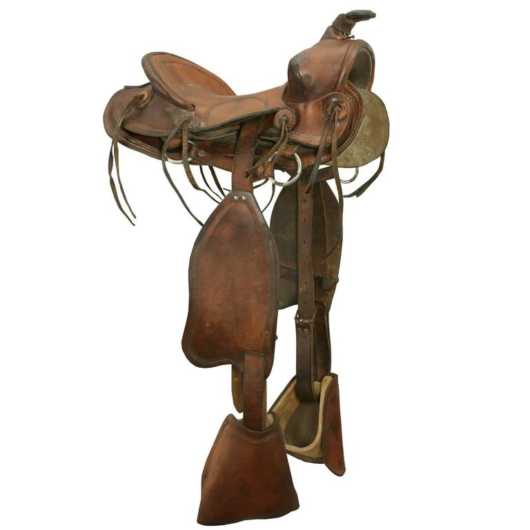 Childs Western Saddle