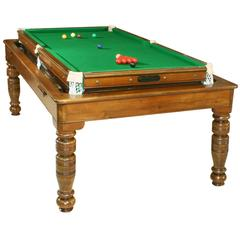 Revolving Billiard, Snooker Table