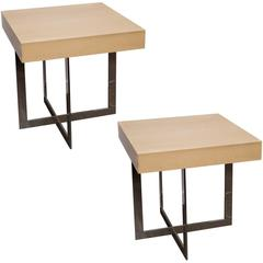 Pair of Hertado End Tables