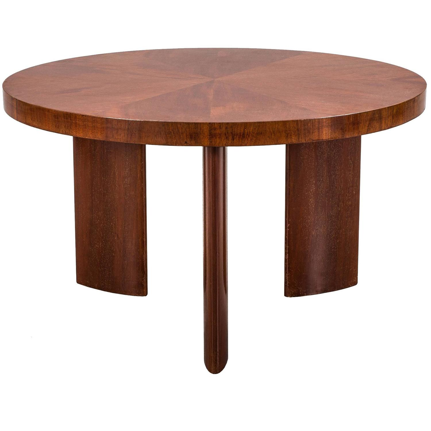 Italian 1920s Carved Wood Coffee Table For Sale at 1stdibs