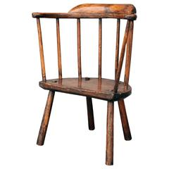 18th Century Stick Chair from Wales