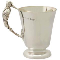 Sterling Silver Christening Mug