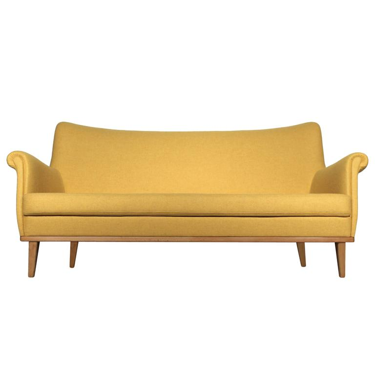 Deluxe Mid-Century Modern Design Sofa, Germany, 1950s At 1stdibs