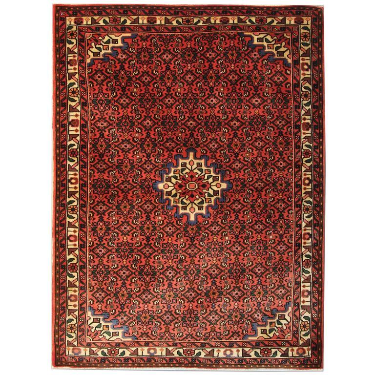 Persian Rugs, Carpet from Hamedan For Sale