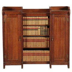 Arts and Crafts Oak Bookcase Attributed to Lambs of Manchester