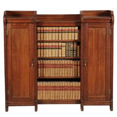Arts and Crafts Bookcase Attributed to Lambs of Manchester