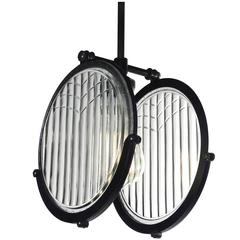 1915 Automobile Double Lens Headlight Pendant