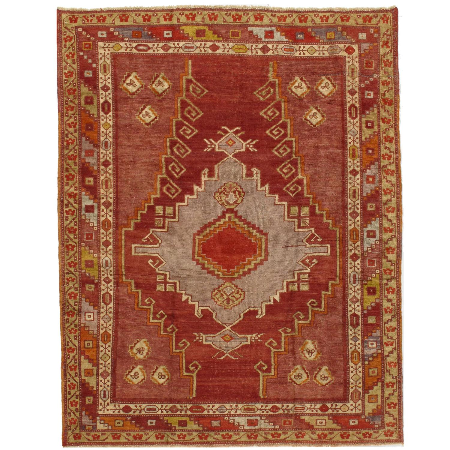 Vintage Turkish Kars Rug For Sale At 1stdibs