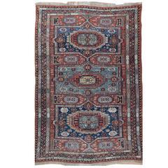 Antique Caucasian Flat-Weave Soumak
