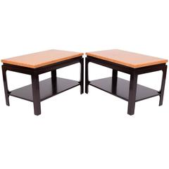 Pair of Side Tables by Paul Frankl for Johnson Furniture