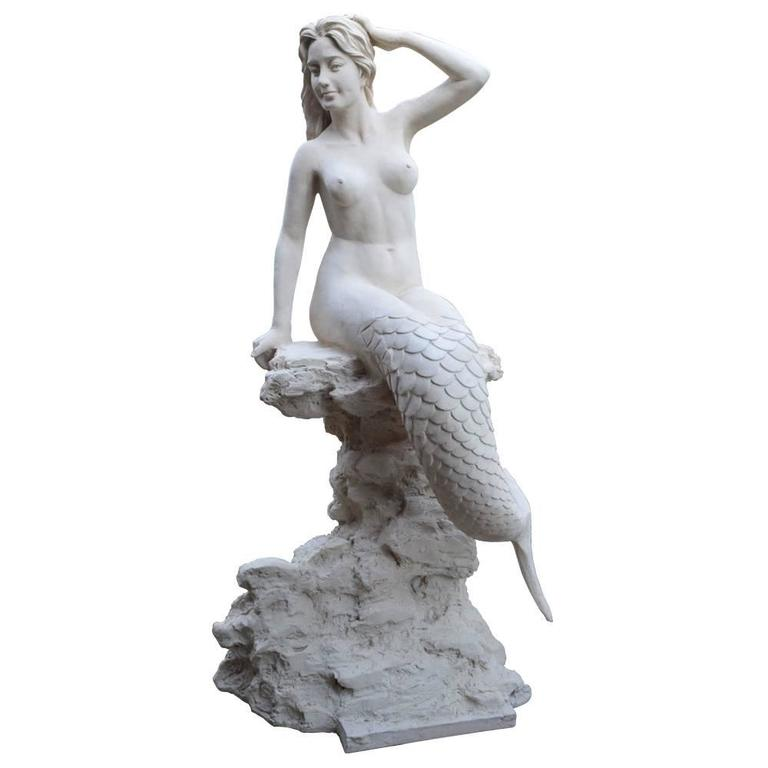 Life Size Mermaid Statue For Sale