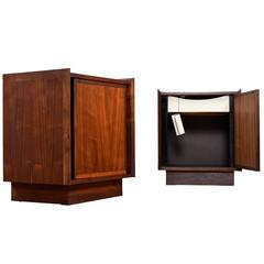 Pair of Vintage Dillingham Esprit Nightstands with Tags